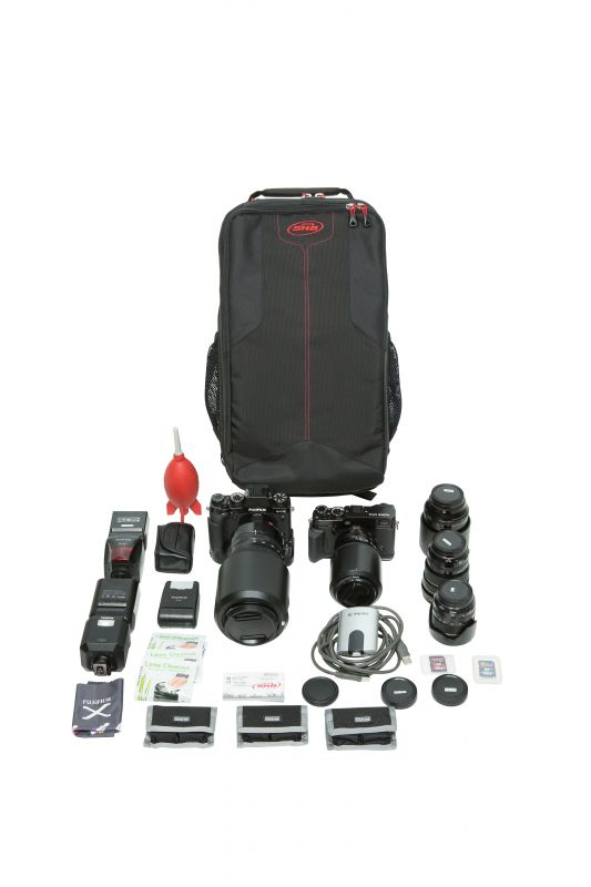 SKB iSeries 2011-7 Transportkoffer mit Think Tank-designed Foto Backpack